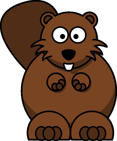 ... free vector Cartoon Beaver clip art