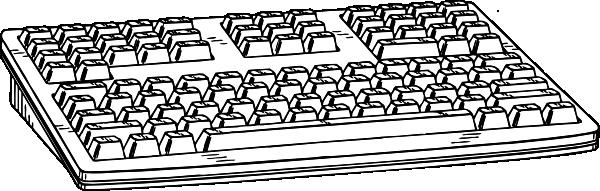 ... free vector Computer Keyboard clip art