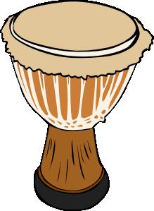 ... free vector Djambe Drum clip art ...
