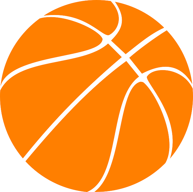 Free Vector Graphic Basketball Orange Clipart Rubber Free