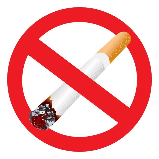 Free Vector No Smoking Safety Sign Clip Art Illustration