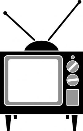Free vector television set; Television Antenna