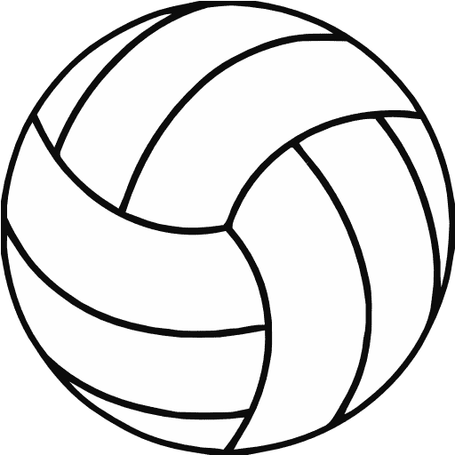 free volleyball clipart