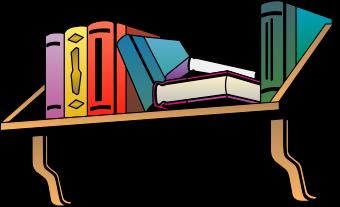 Free Wall Mount Bookshelf Clip Art