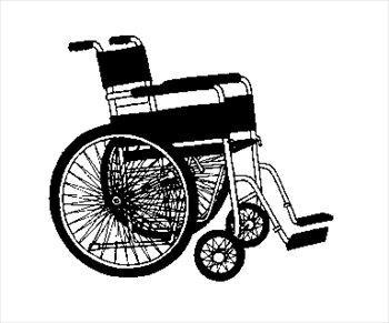 Free Wheelchair Clipart
