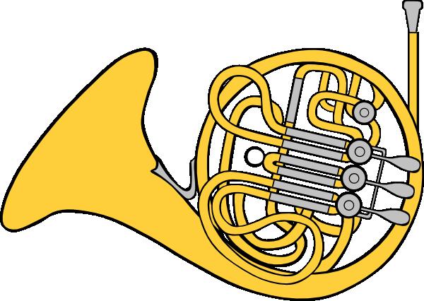 French Horn Clip Art