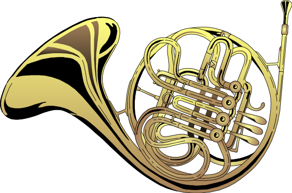 French Horn Clipart. french horn .