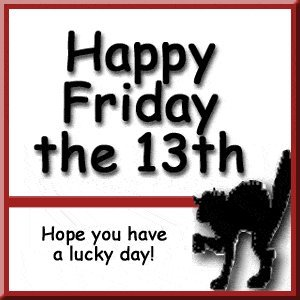 Friday the 13th Superstitions Clip Art