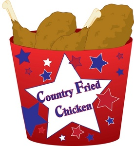 fried chicken clipart