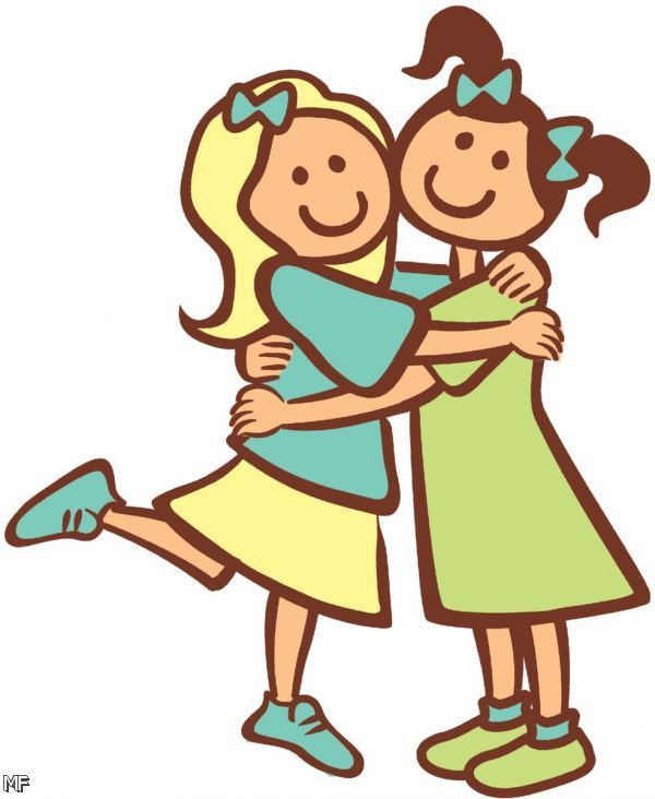 Clipart Of Friends Friends Cl - Friend Clipart