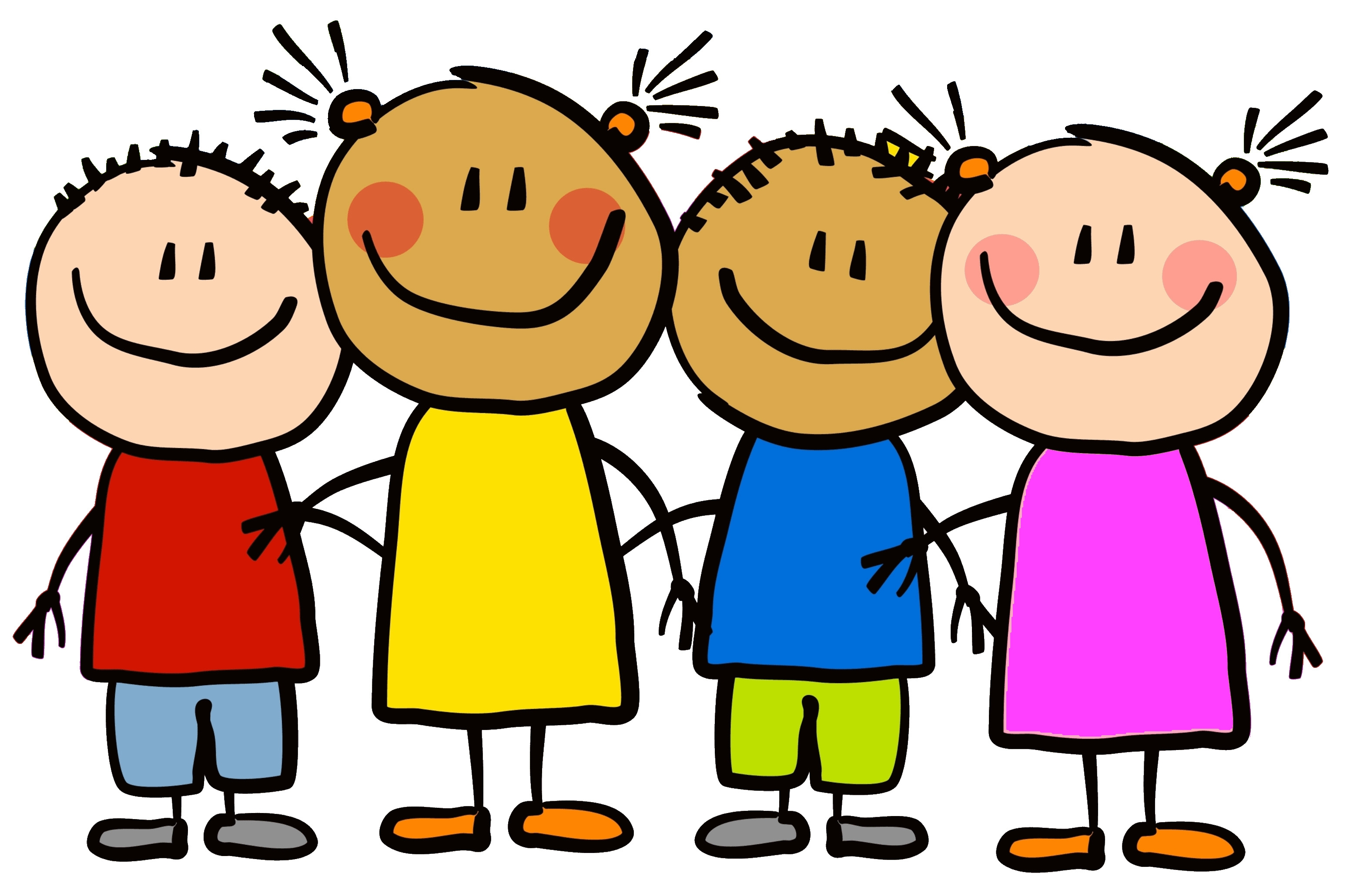 Friendship kindergarten friends clipart