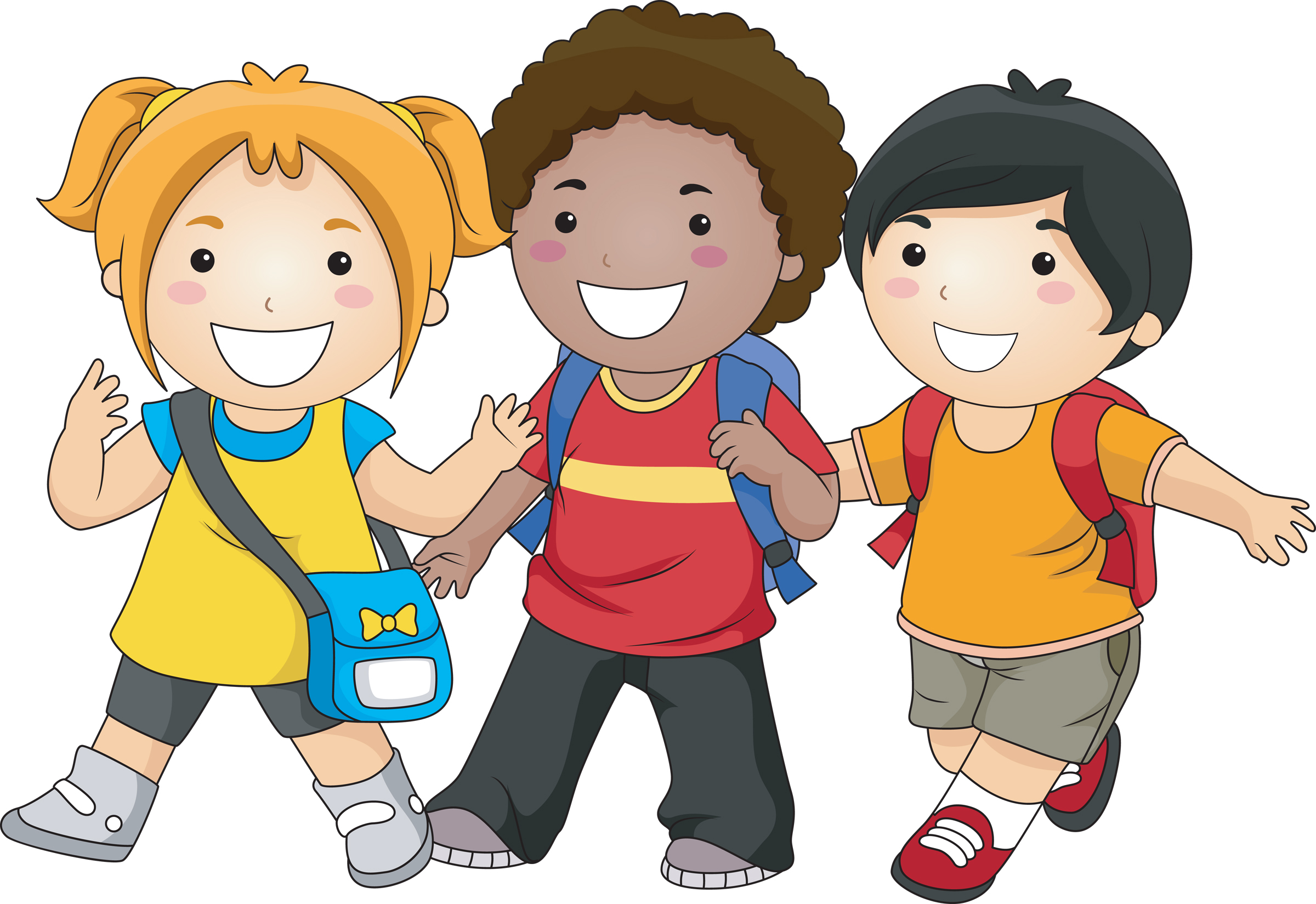 Friendship school friends clipart clipart kid