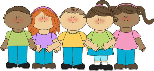 Happy Children Clip Art - Happy Children Image | School Clip Art 1
