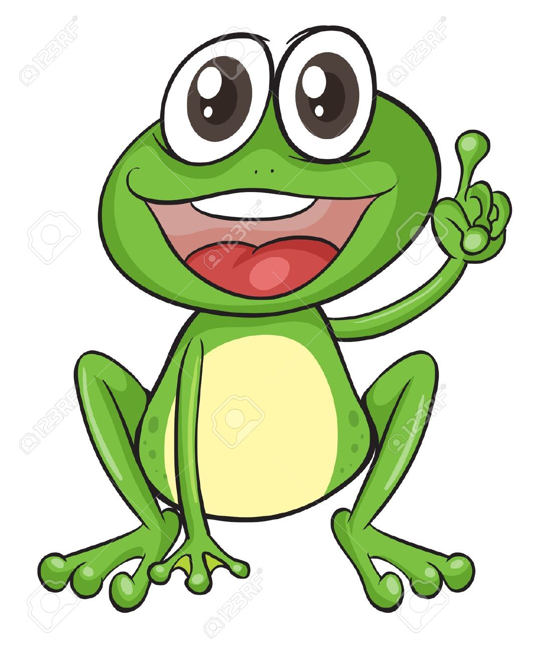 Frog clip art gallery .