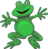 Frog Clipart Size: 74 Kb