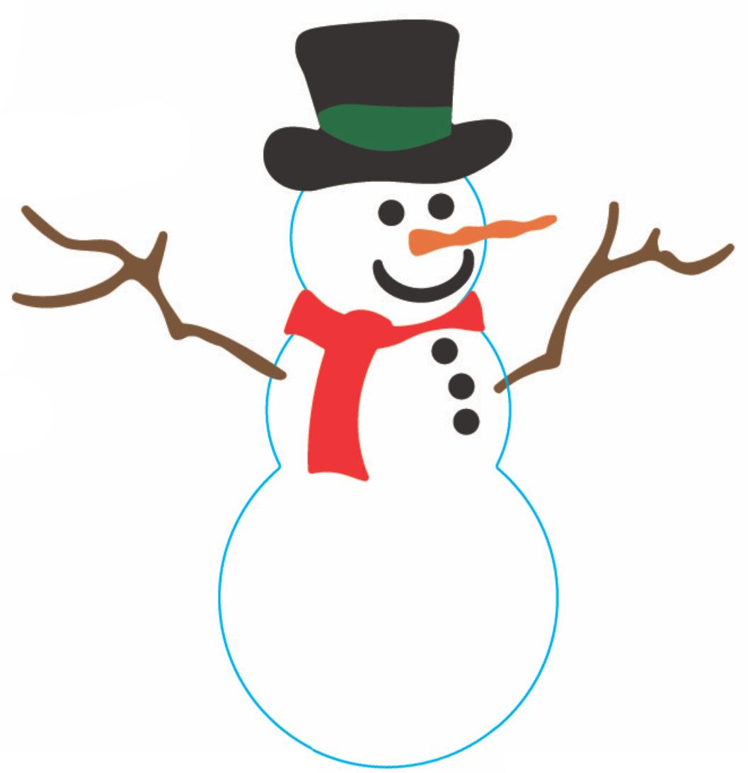 ... Frosty the snowman clipart - ClipartFox ...