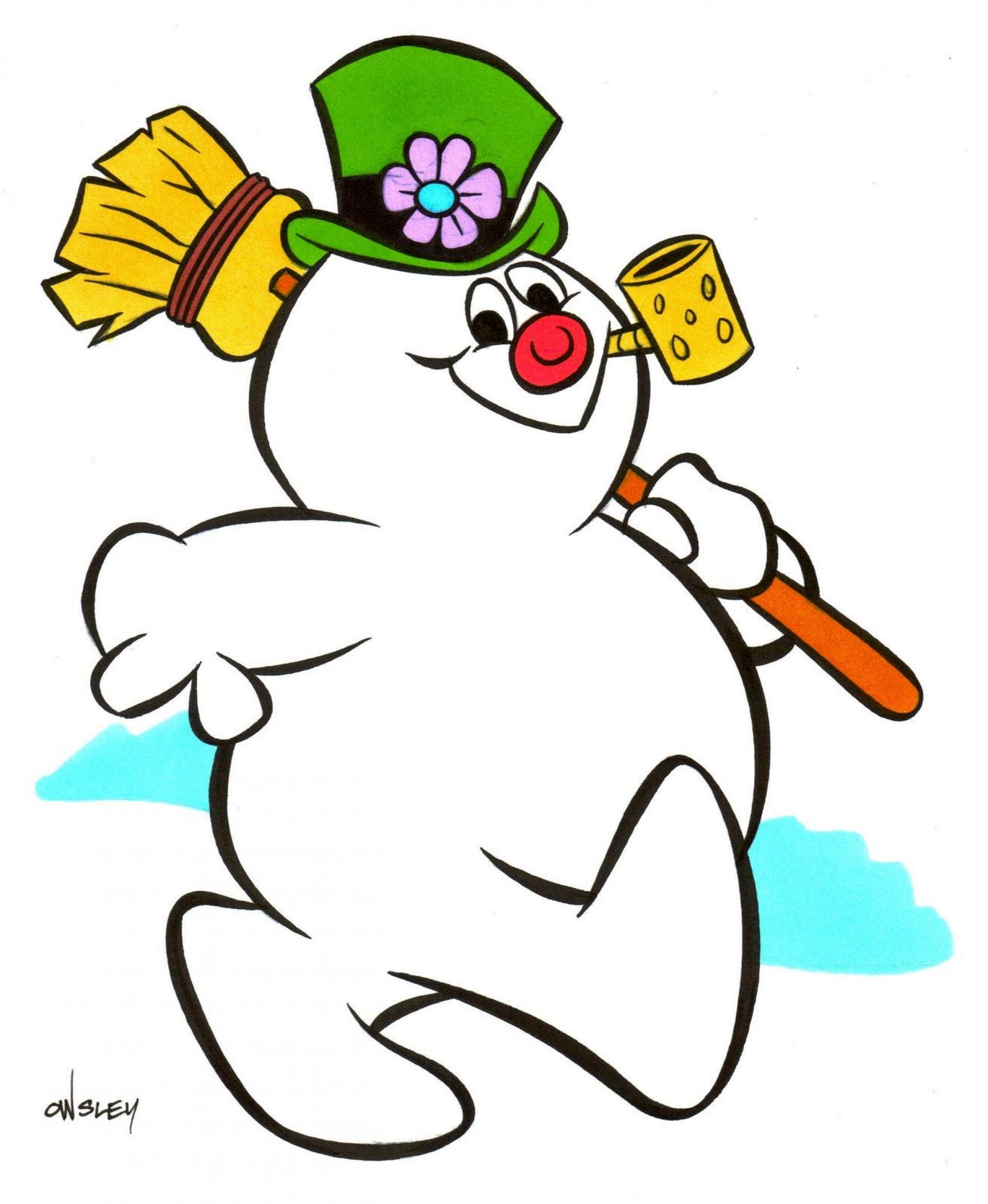Frosty The Snowman Movie .