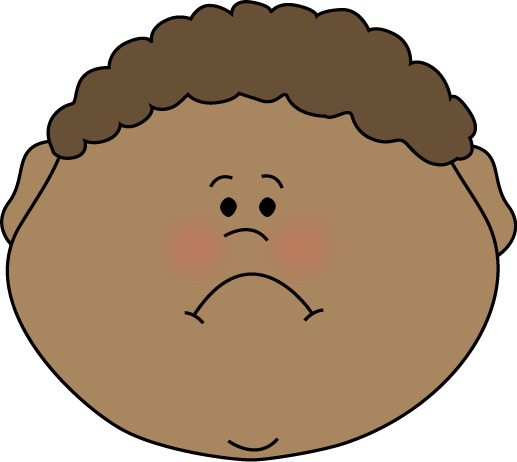 Frown Clipart