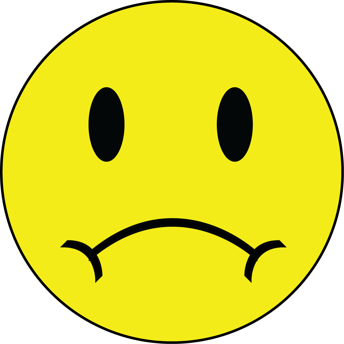 Frowning Face Clipart