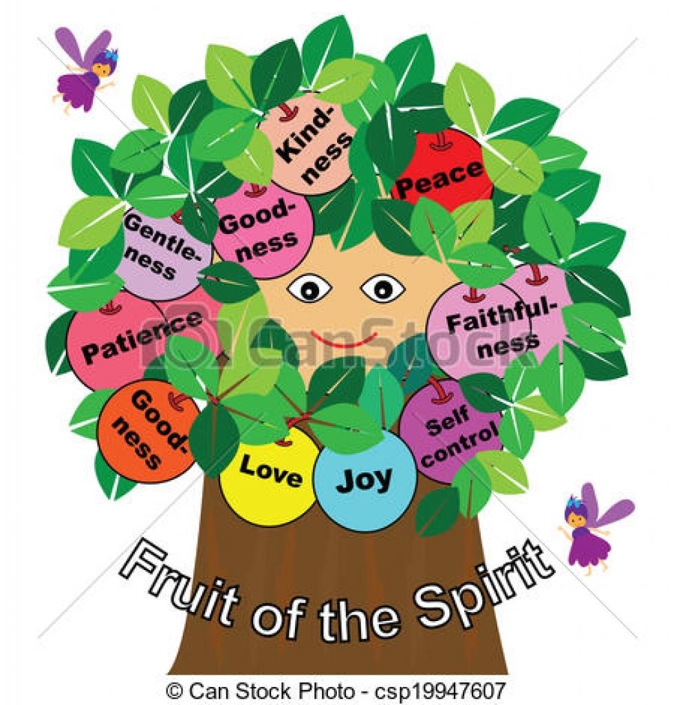 Fruit of the Spirit Clip Art Borders