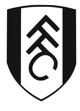 FULHAM FC WALL STICKER HIGHLY DETAILED FOOTBALL CLUB LOGO | 28 GREAT  COLOURS TO CHOOSE FROM