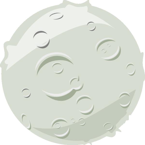 Full Moon Clip Art At Clker Com Vector Clip Art Online Royalty Free