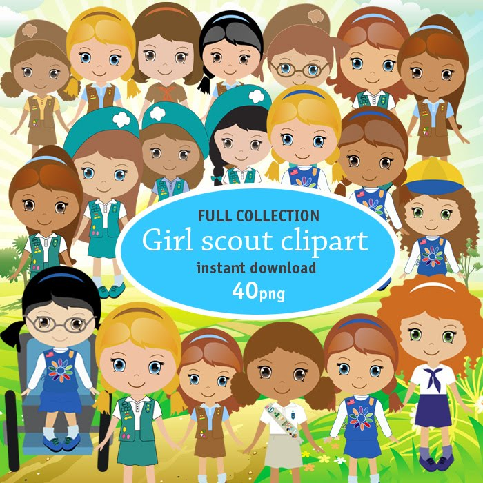 full scout girl graphics