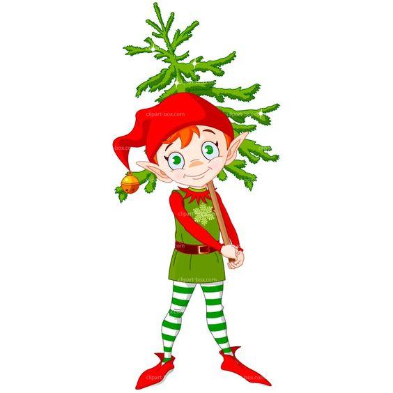 Funny Elf Clip Art   Free Christmas Elf Clip Art