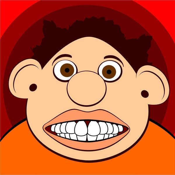 Funny Face Free Clip Art