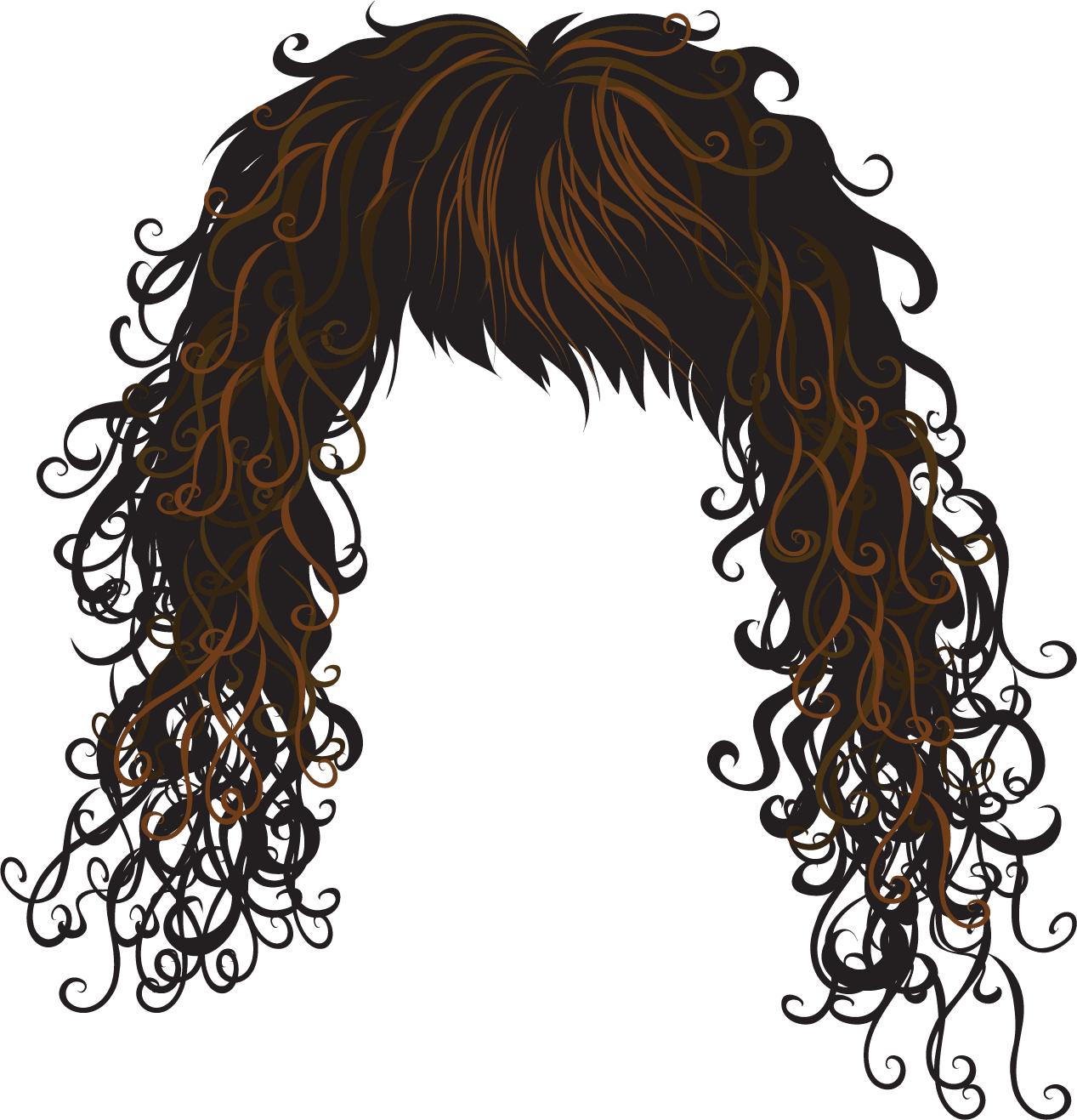 Funny Hair Clipart