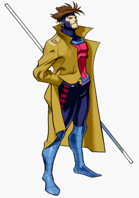 Gambit Marvel Clipart.
