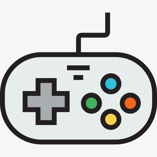 a gamepad, Game, Handle, Cartoon PNG Image and Clipart