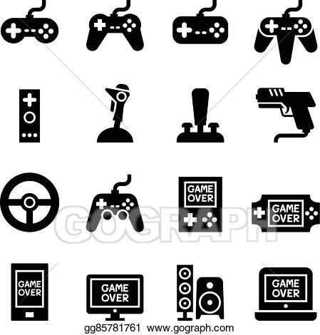 Video game Controller, Joystick Gamepad icon