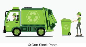 Garbage and trash .