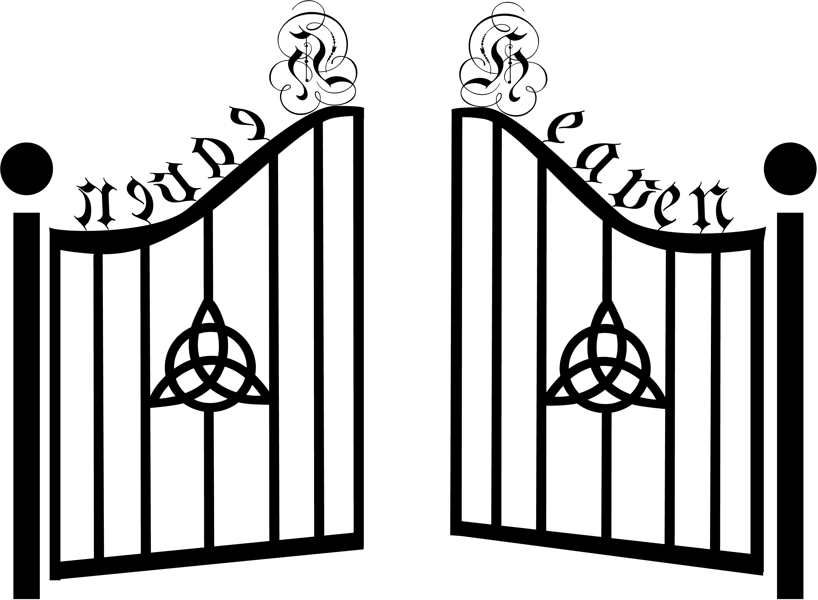 Gate Closed Clipart
