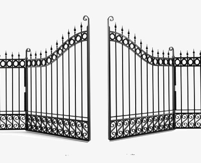 iron gate, Iron Clipart, Fence, Villa PNG Image and Clipart