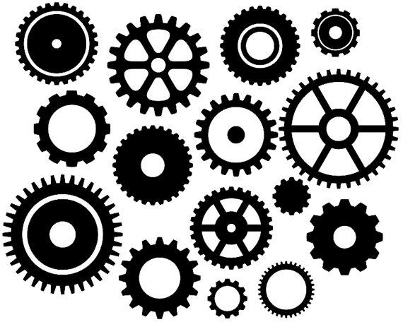 Gears Clipart-Clipartlook.com-570