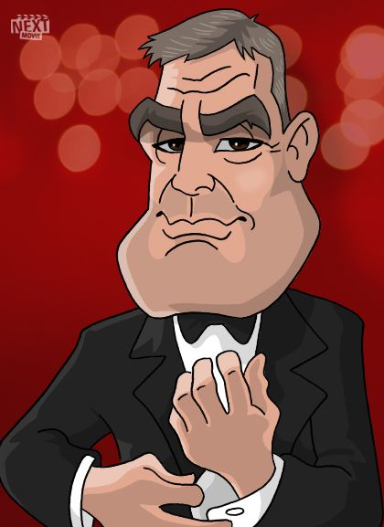 Cartoon George Clooney