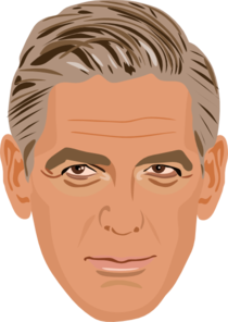 George Clooney Clip Art