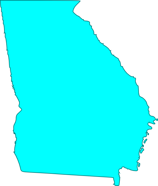 Georgia Blue Clip Art