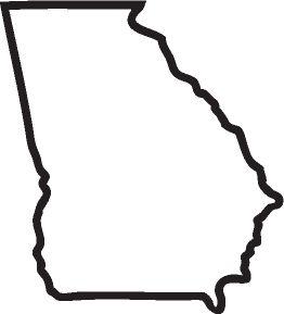 Georgia outline.