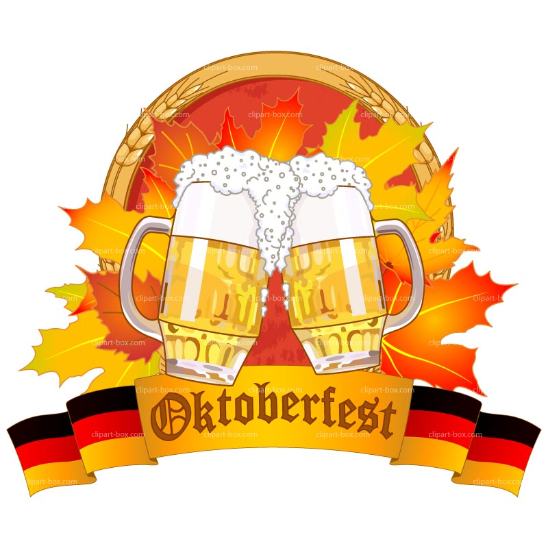 German Oktoberfest Clipart #1