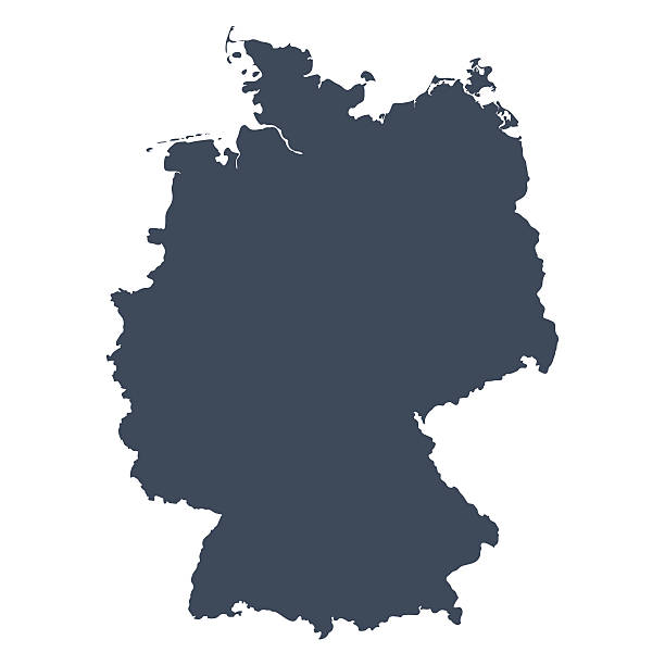 Germany country map vector ar - Germany Clipart