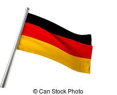 ... germany flag - german flag isolated on white background