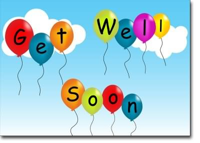 Get well soon clipart - .