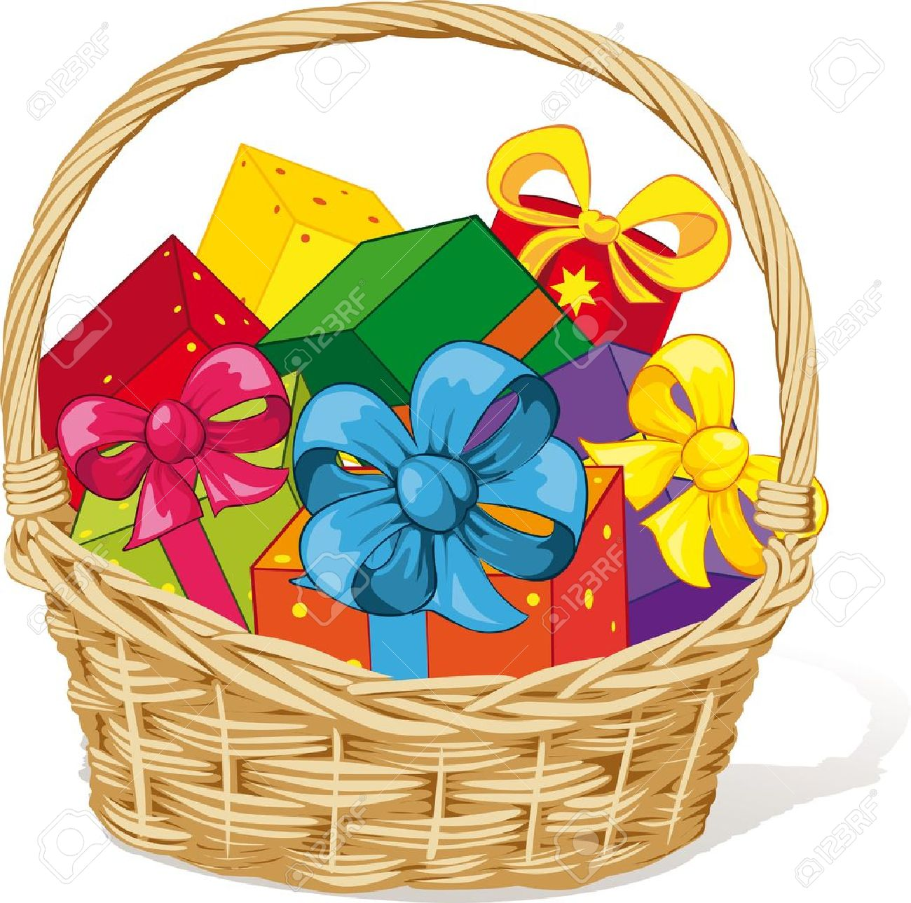 12+ Gift Basket Clipart - Preview : Gift Basket T Bas ...
