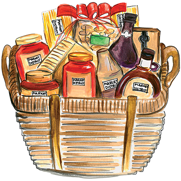 Basket clipart gift hamper #8