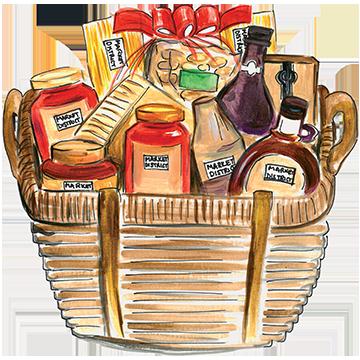 Basket clipart gift hamper #8 - Gift Basket Clipart
