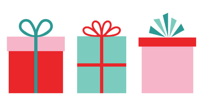 Adorable Christmas gifts clip art is perfect for all of your holiday  projects! Use them
