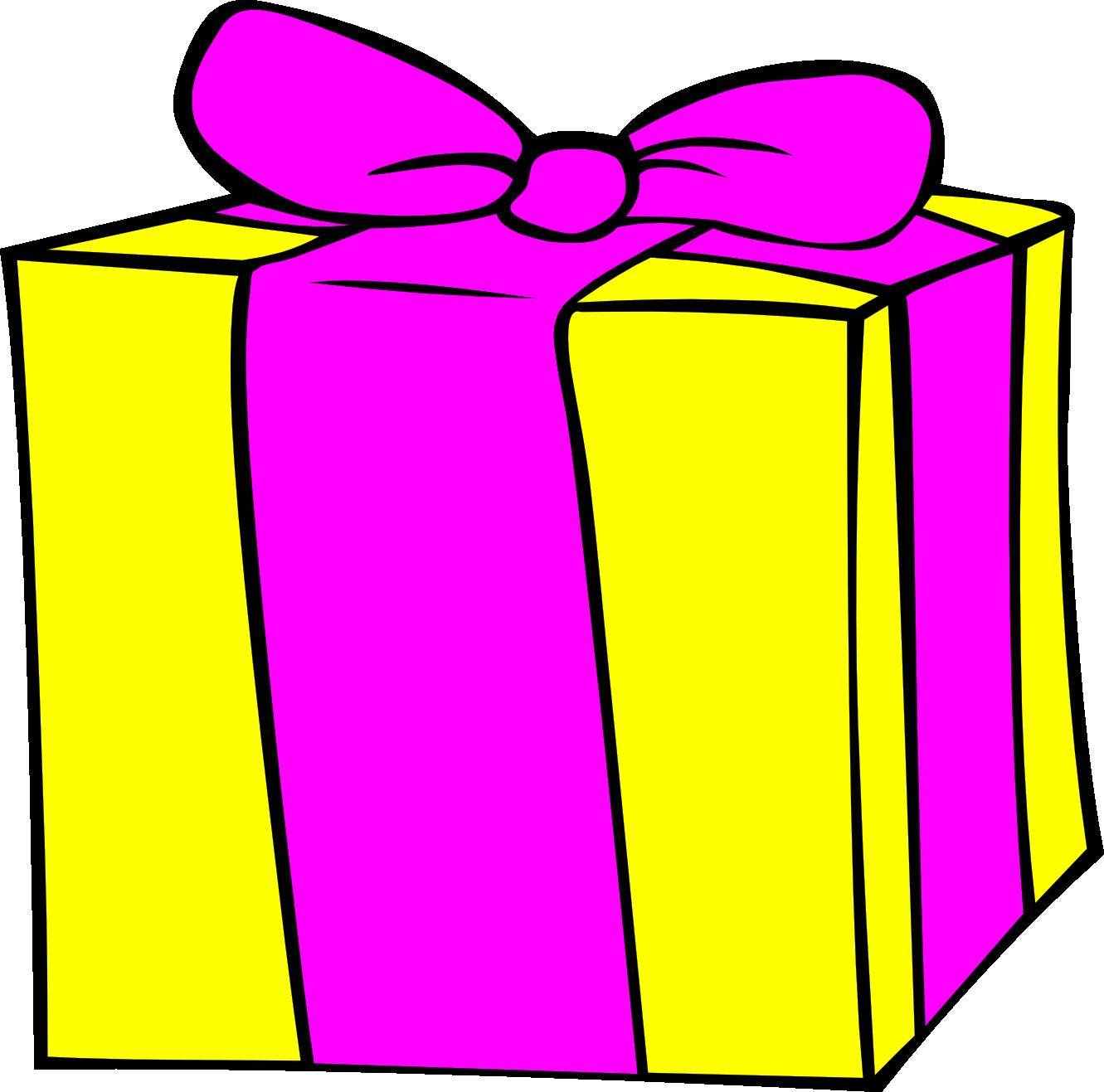 Clipart birthday gift - .